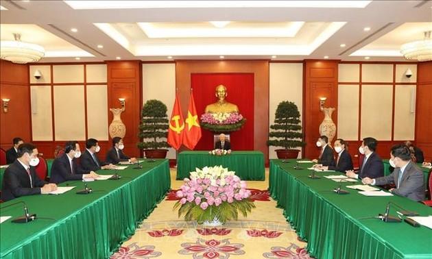 베트남-한국 쌍방 무역 1,000억 달러 조기 달성 목표