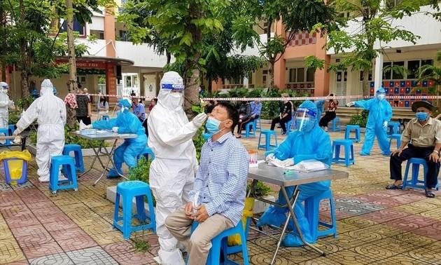 지난 24시간 내 베트남, 국내 감염자 8597 명 발생