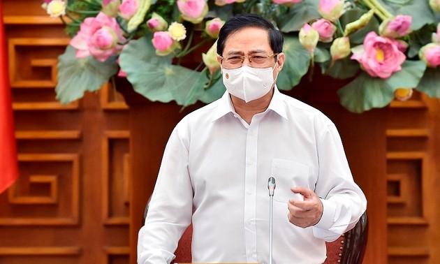 Perdana Menteri Pham Minh Chinh: Pembangunan Ekonomi Berjalan Seiring Dengan Kemajuan dan Keadilan Sosial
