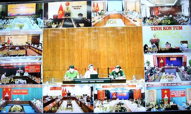 Menjaga Mekanisme Kontrol Antara Kota Ho Chi Minh dan Wilayah Selatan Saat Longgarkan Jarak Sosial