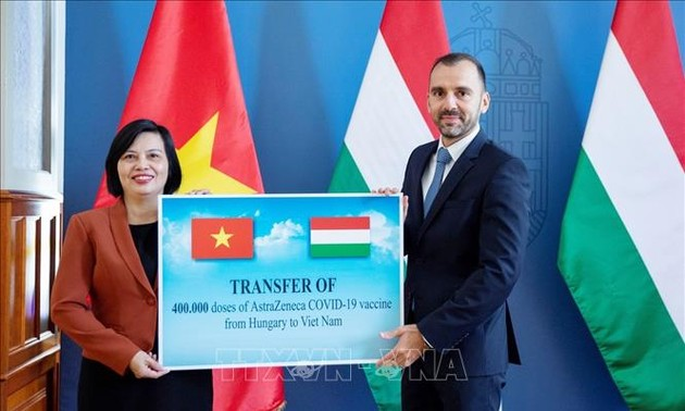 Kroasia dan Hongaria Memberikan Bantuan Vaksin kepada Vietnam Menanggulangi COVID-19