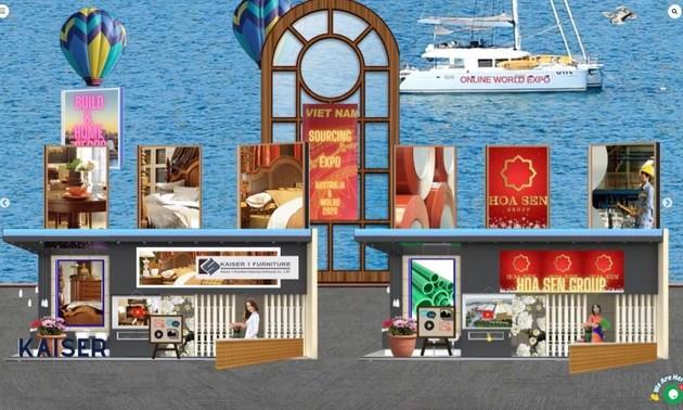 越南商品国际展吸引澳大利亚企业的关注