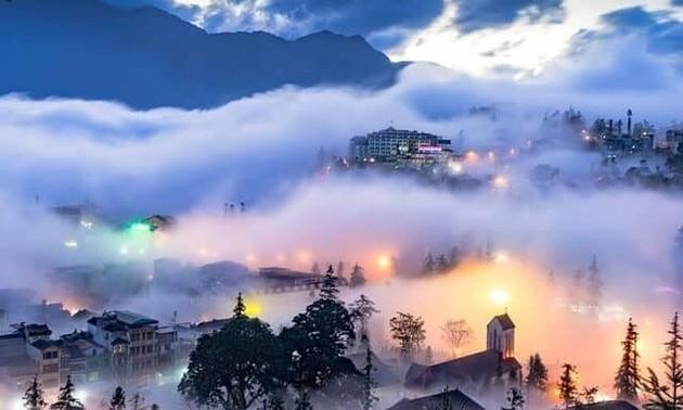 2021年初吸引游客的越南旅游胜地