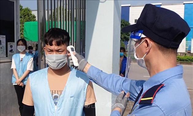 6月14日中午越南新增100例新冠肺炎确诊病例