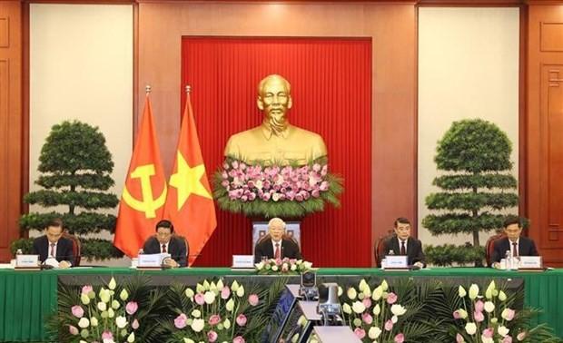 越共中央总书记阮富仲在中国共产党与世界政党领导人峰会上的讲话(全文)