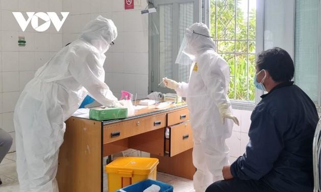 过去24小时越南新增7445例本土确诊病例