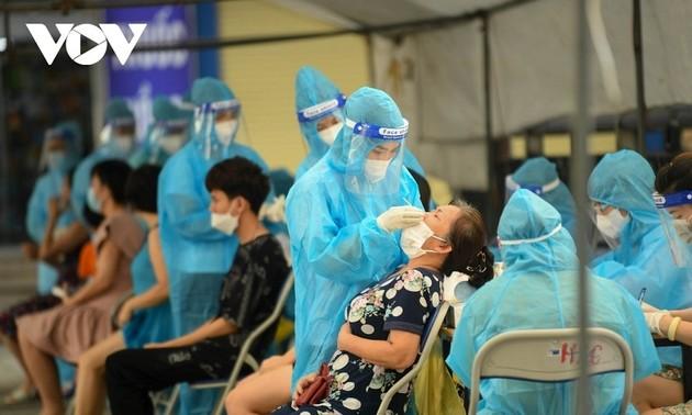 过去24小时,越南新增3159例新冠肺炎确诊病例