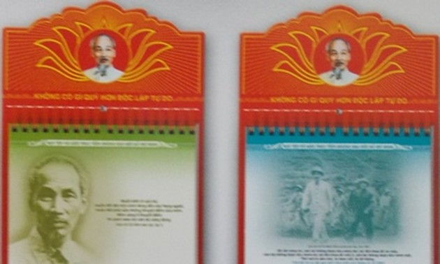 First book-calendar on President Ho Chi Minh becomes Vietnam's record