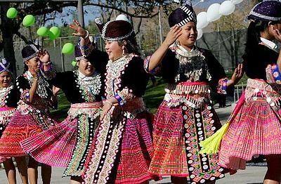 Marriage of Mong people in Dien Bien province