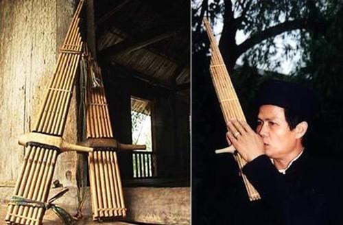 The beautiful sound of the Chau Yen panpipe