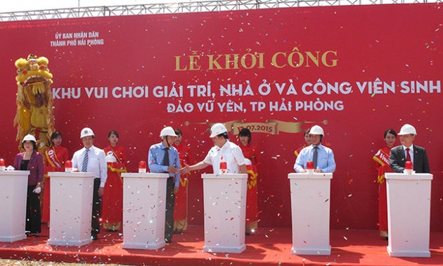 Construction of 1 billion dollar Vu Yen – Hai Phong eco project begins