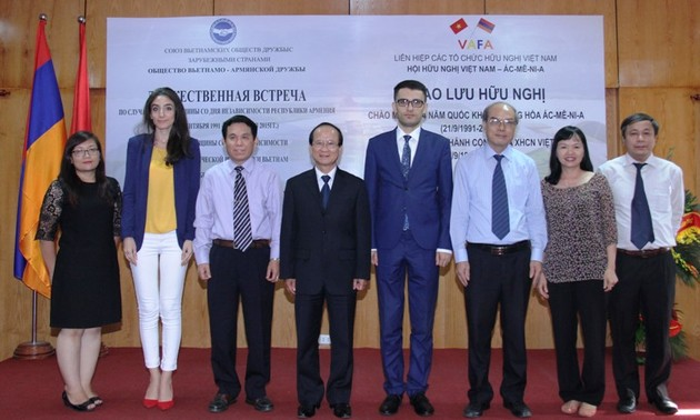 Celebration of the 70th Vietnam's National Day and 24th Armenian National Day