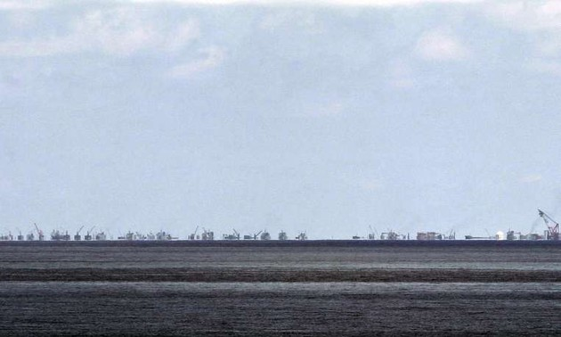 Philippines opposes China's claims of sovereignty in the East Sea