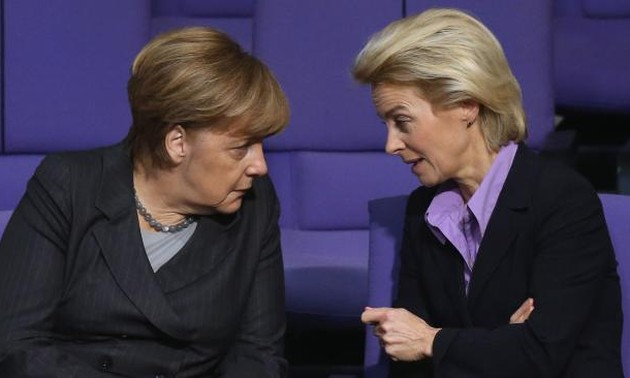 German Parliament approves military campaign against IS in Syria