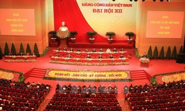 Whole political system mobilized to realize Resolutions of 12th Party Congress