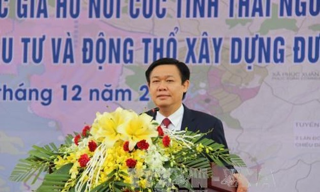 Deputy PM Hue attends zoning announcement and ground breaking ceremonies in Thai Nguyen