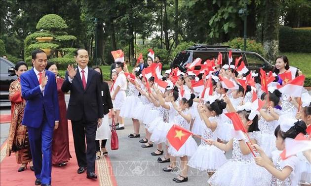 Indonesian media spotlight President Widodo's visit to Vietnam