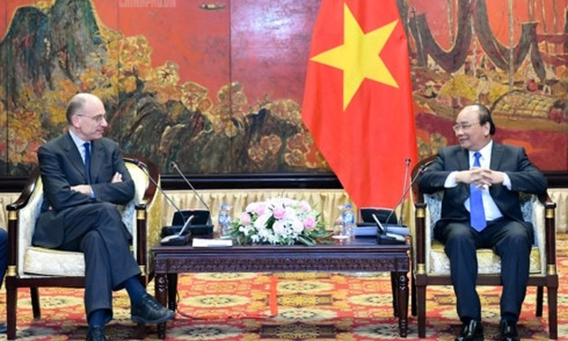 Prime Minister welcomes President of Italy-ASEAN Association