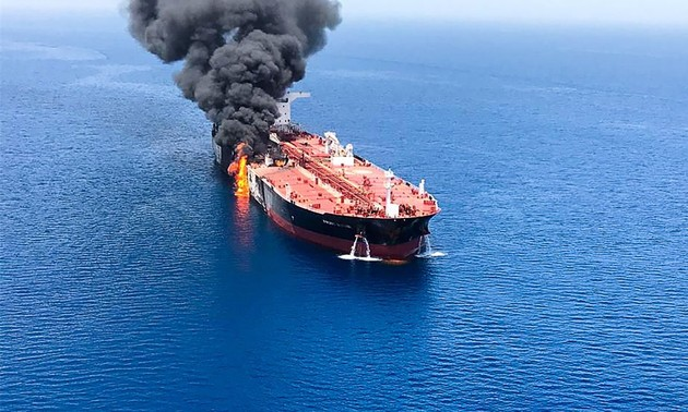 Hightened tensions in Gulf of Oman