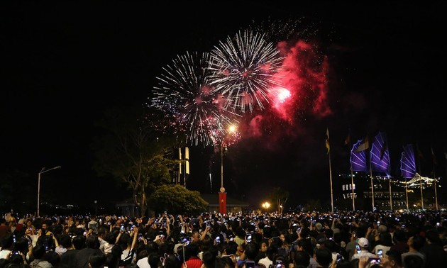 HCMC stages firework displays to celebrate National Day