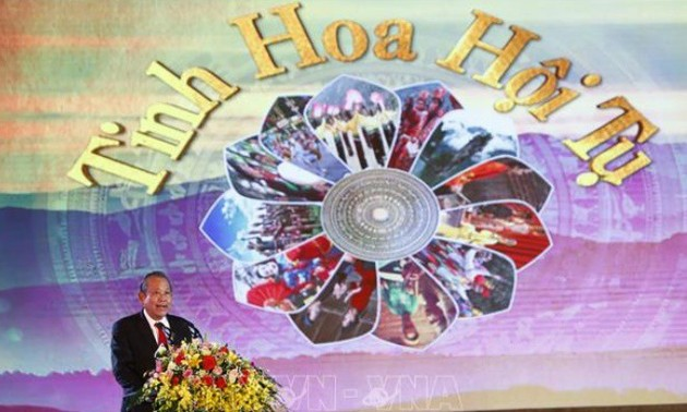 Thanh Tuyen Festival spotlights national intangible cultural heritages