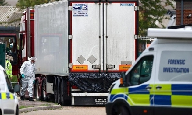 British authorities charge another suspect in truck tragedy