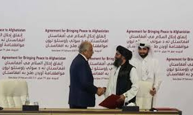 US, Taliban sign agreement to withdraw American troops from Afghanistan