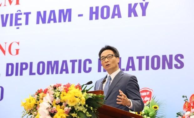 Hanoi ceremony marks 25 years of Vietnam-US relations