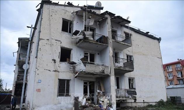 Armenia, Azerbaijan accuse each other of violating ceasefire