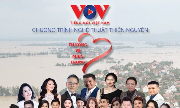 VOV hosts concert to raise fund for flood victims