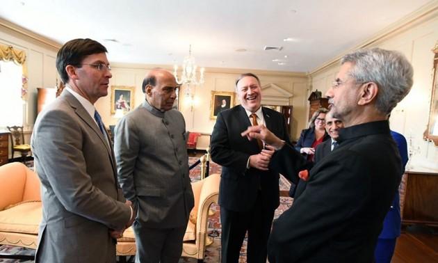 China, COVID-19 top agenda of India-US 2+2 talks