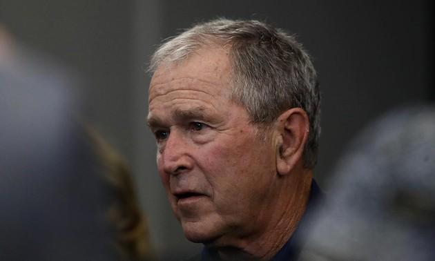 George W. Bush congratulates Biden