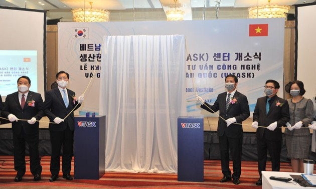RoK establishes center to help Vietnam's support industry