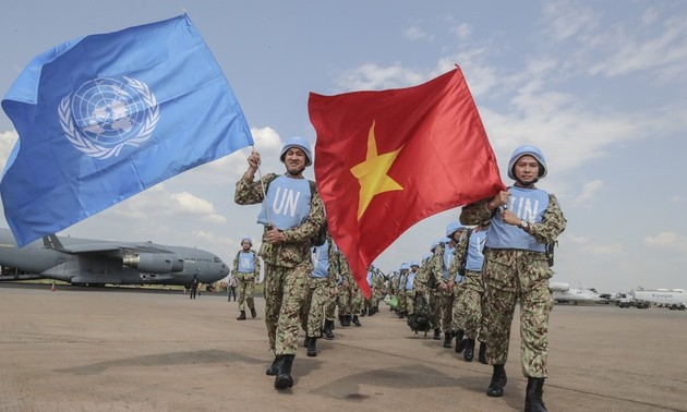 Vietnamese troops responsibly participate in UN peace keeping