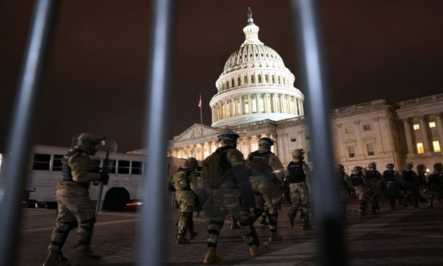 American police confirm 4 people died at the US Capitol riots
