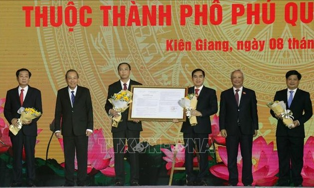 Phu Quoc Island granted 'island city' status