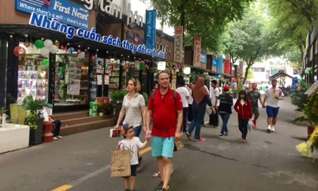 Book street, a culture space in Ho Chi Minh City