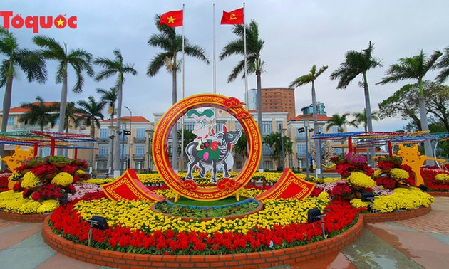 Da Nang Spring Flower Path offers splendid view