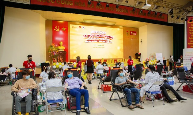 Red Spring Festival set to receive 4,000 units of donated blood