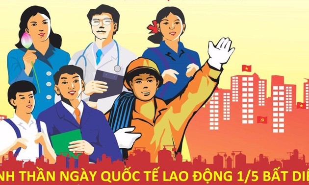 Vietnamese workers promote unity, creativity, development
