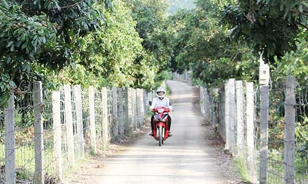 Chieng Khuong border commune changes to a new-style rural area
