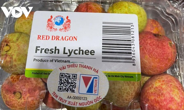 Thanh Ha lychees now available on Lazada
