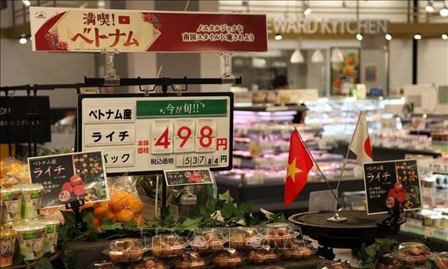 Vietnam's fresh lychees sold in Japan's supermarkets