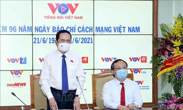 NA Vice Chairman congratulates VOV on Vietnam's Revolutionary Press Day