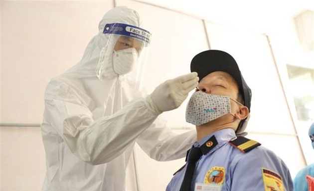 2,016 COVID-19 cases detected in Vietnam Saturday morning