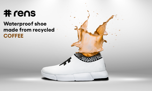 Vietnamese students conquer global market with shoes made from used coffee grounds