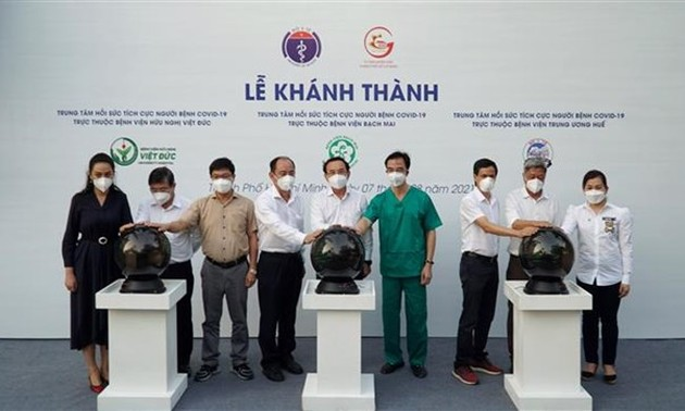 Three new intensive care centres in HCMC receive COVID-19 patients