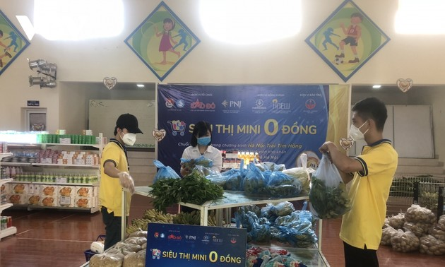 Zero-Dong shops comfort people in pandemic areas
