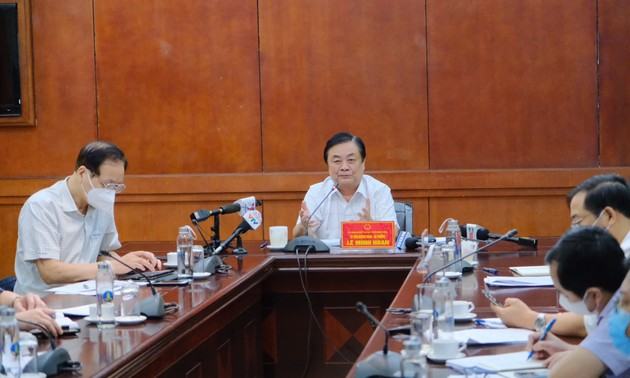 Southern provinces seek to restore exports of agro-aquatic products