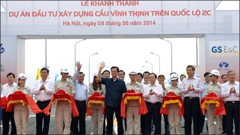 Mise en service du plus long pont du Vietnam